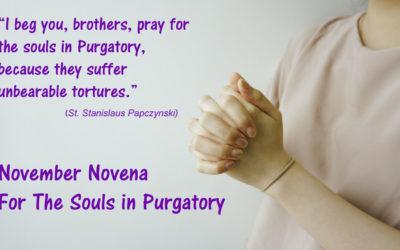November NOVENA for the Souls in Purgatory